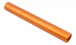 trenas Professionally Anodised Relay Baton - Orange